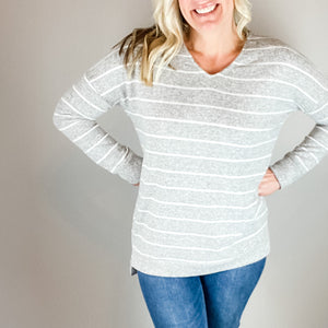 Lauren Knit Pullover Sweater-Find your perfect casual tops by searching our collection of women's tops online today! Shop trendy tanks, blouses, tees, sweaters and more. New items added daily. Tops for women.-East Coast She, South Carolina