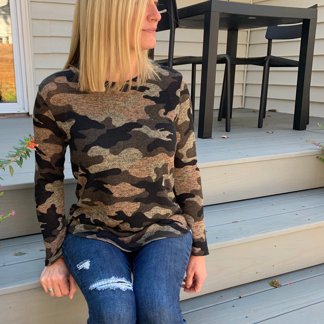 The Military Girl Top