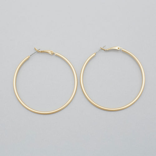 Shawna Hoop Earrings-We provide you with the worlds best quality affordable jewelry and earrings. Complete your outfit with our collection of stylish and sophisticated jewelry for all of your occasions. Earrings for your casual outfits. Affordable, top selling stud, post, hoop, dangle, drop, acrylic, and tassel. -East Coast She, South Carolina