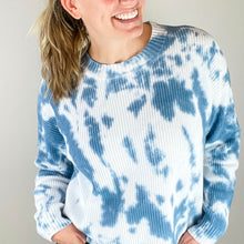 Gabby Cropped Tie Dye Sweater