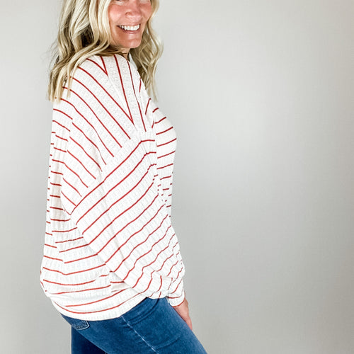 Bentlee Oversized Striped Sweater