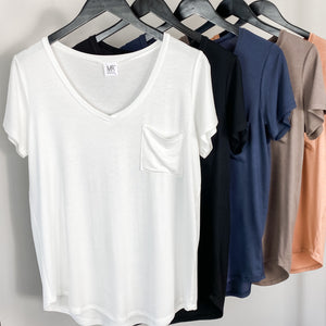 Tammy Oh So Soft V-Neck Tee