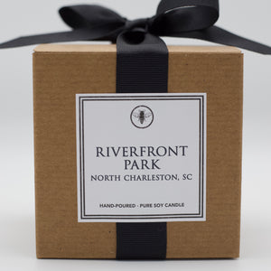 The Neighborhood Candle Line-East Coast She provides 100% soy, hand-poured candles inspired by hotspots in our home town North Charleston, SC. The Neighborhood Line of Park Circle, SC. -East Coast She, South Carolina