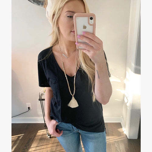 The Kendall Top-Find your perfect casual tops by searching our collection of women's tops online today! Shop trendy tanks, blouses, tees, bodysuits and more. New items added daily. Tops for women.-East Coast She, South Carolina