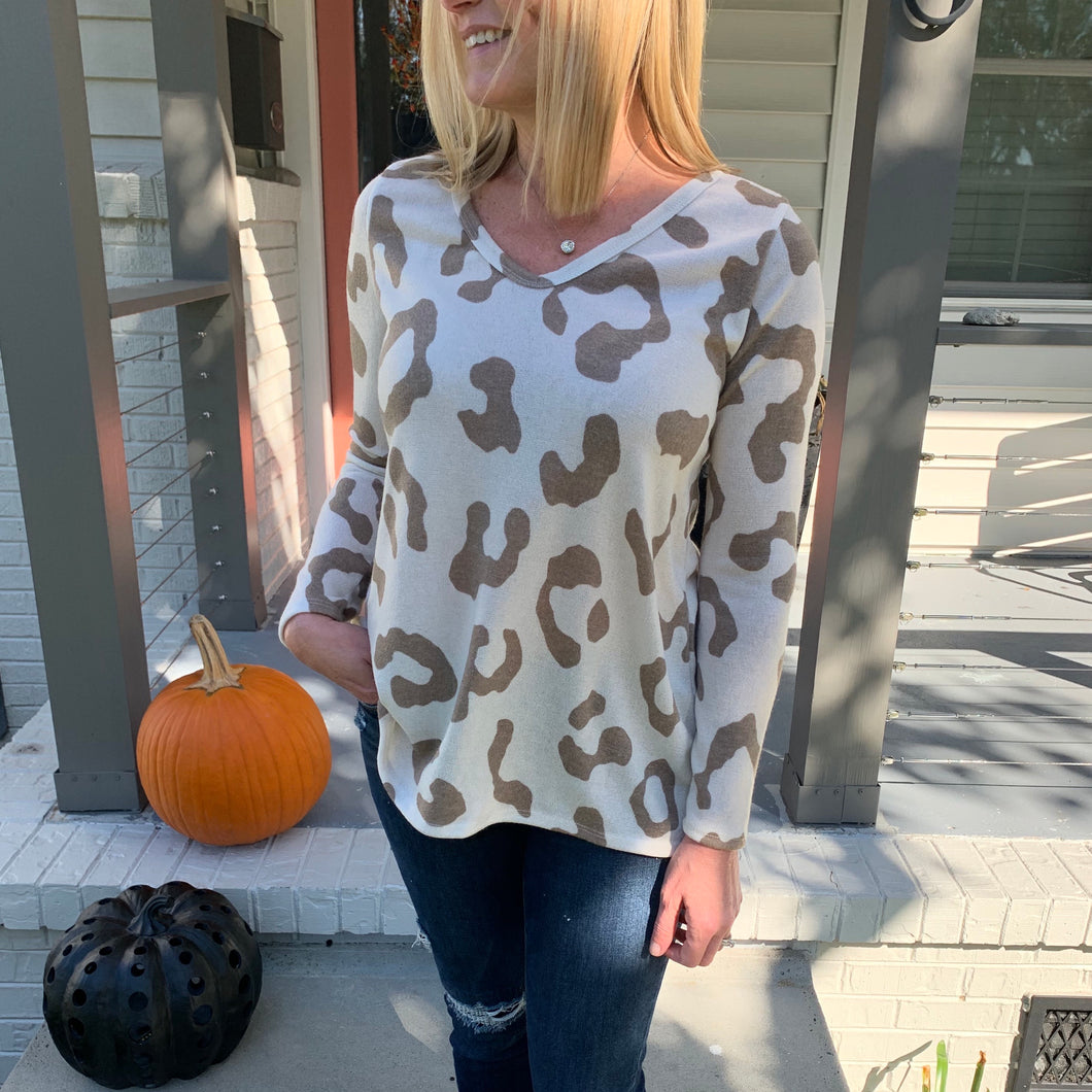 Vanessa The Leopard Sweater