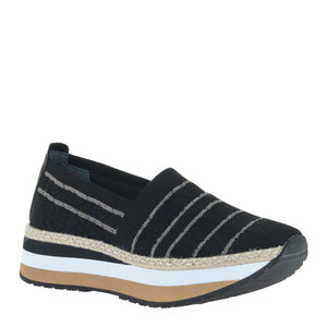 OTBT - ISLANDER in BLACK Espadrilles-East Coast She, South Carolina