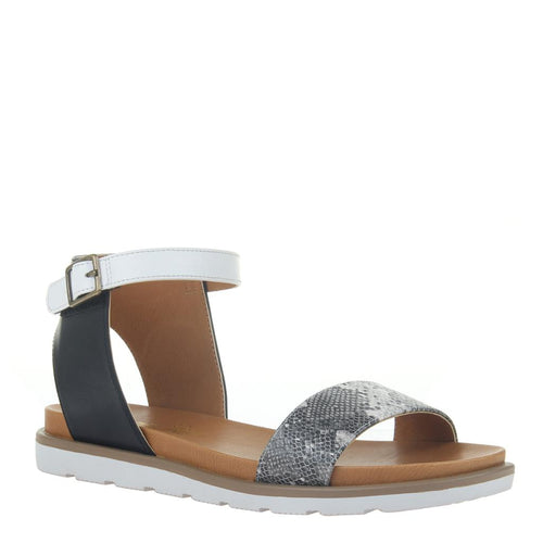 MADELINE GIRL - STARLING 2 in GREY Flat Sandals-East Coast She, South Carolina