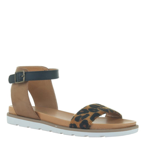 MADELINE GIRL - STARLING 2 in HONEY Flat Sandals-East Coast She, South Carolina