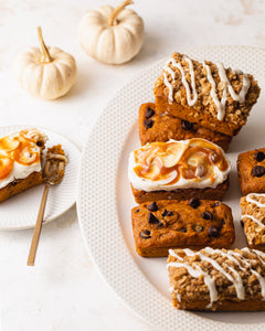 Pumpkin Mini Loaf Cakes : 3 Ways by Style Sweet Daily