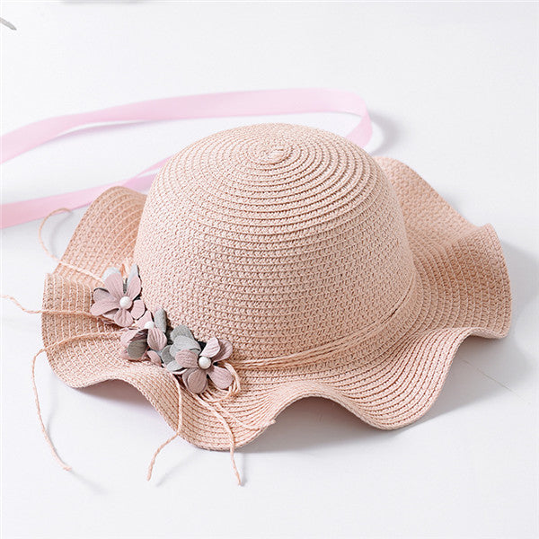 Flower Straw Sun Hats