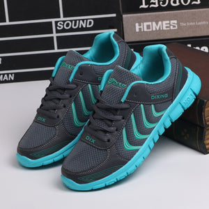 fashion Soft breathable mesh woman shoes