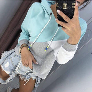 Hot Women Long Sleeve Hoodie  Sweatshirt