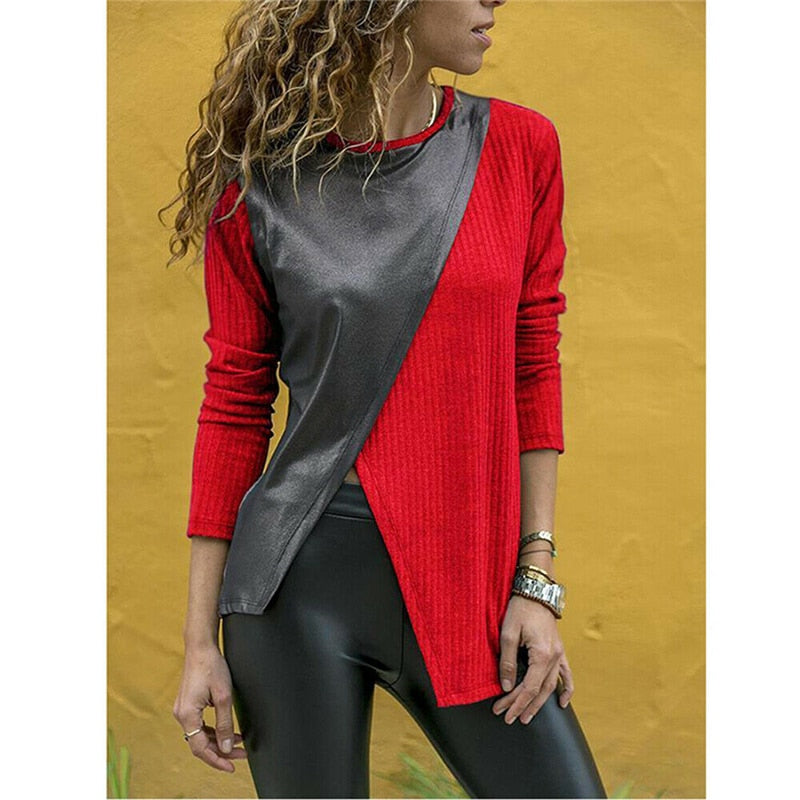 2019 Women Autumn Knitted T-shirts