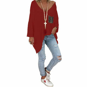 Oversized Autumn Womens Baggy T-Shirt