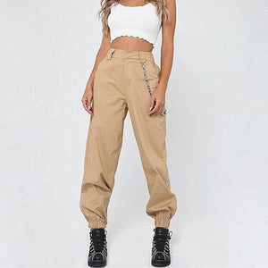 Hot Women High Waist Loose Hip Pop Pants - shop-bylu