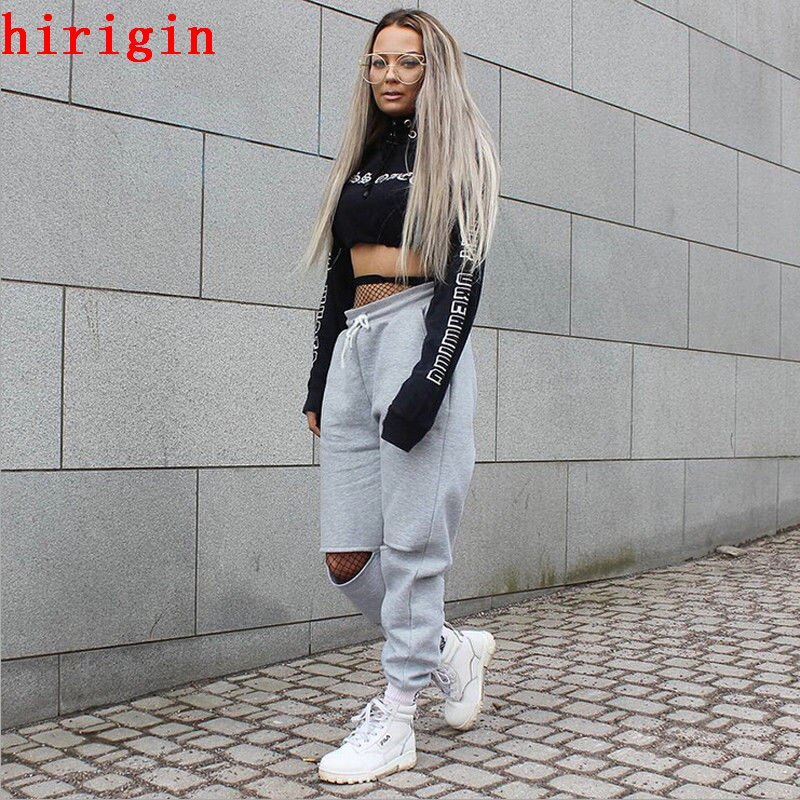 fashion autumn women high waist loose pants - shop-bylu