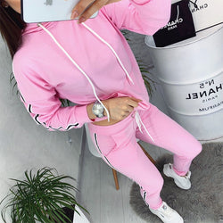 Autumn Winter Active Women Running Suit