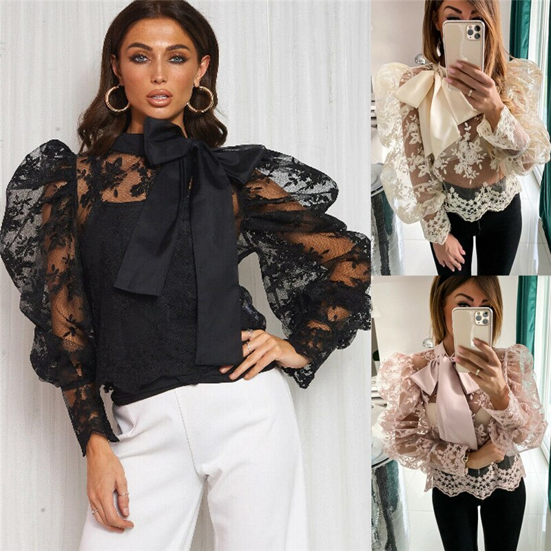 Ladies Casual Loose Blouse Shirt Floral Tops - shop-bylu