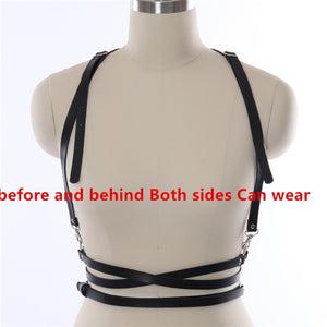 Chain Belt Bondage Bra Harness - shop-bylu