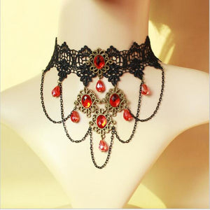 Wedding choker necklaces for women