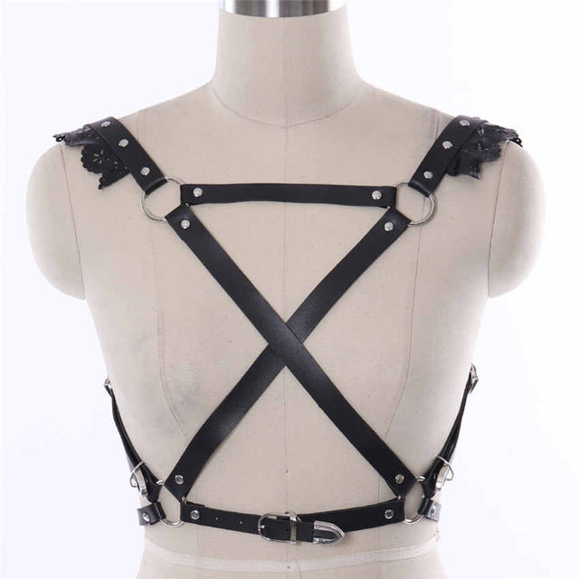 Leather Belt Party Dance Wear - shop-bylu
