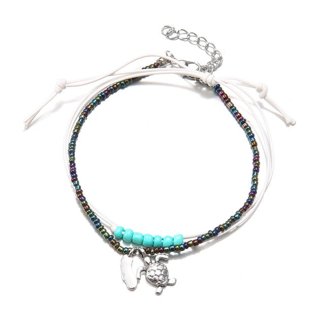 Bells Round Anklet Foot Chain Ankle Charm Bracelet