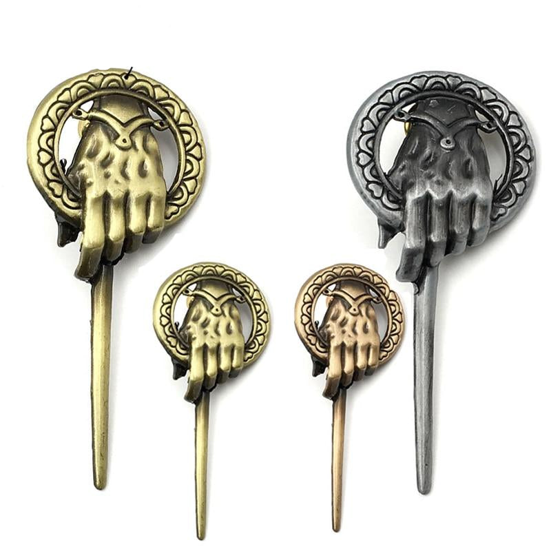 Game of Thrones Song of Ice and Fire Brooch - shop-bylu
