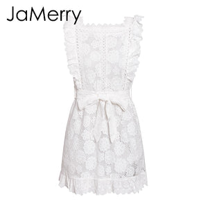 Sashes Ruffled Holiday Dress