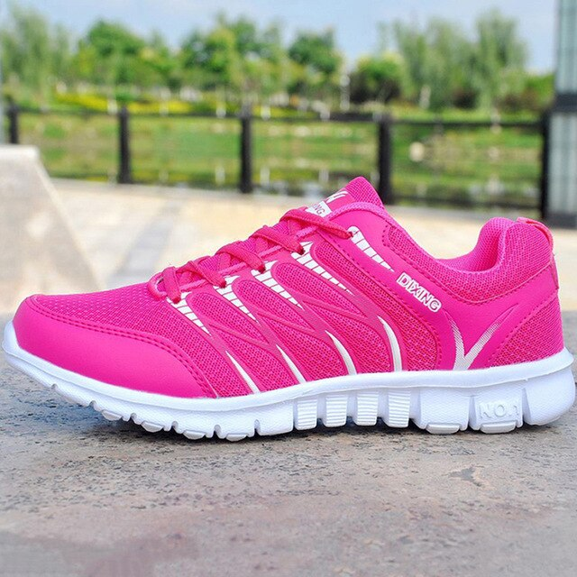 Women Shoes Breathable Air Mesh Sneakers