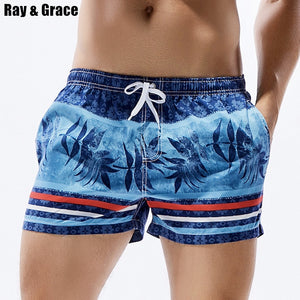 Summer Surfing Shorts Men Beach Board Shorts