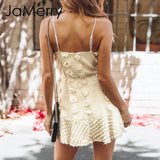 Elegant Flower Short Dress - shop-bylu