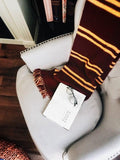 Harry Potter House Scarf Knitting Pattern Gryffindor