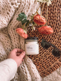 Peach Magnolia Candle
