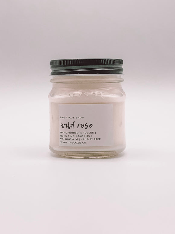 Wild Rose Candle THE COZIE SHOP