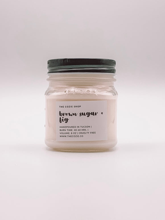 Brown Sugar and Fig Candle THE COZIE SHOP