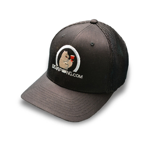 BEARPONG FlexFit Truckers Cap (Black)