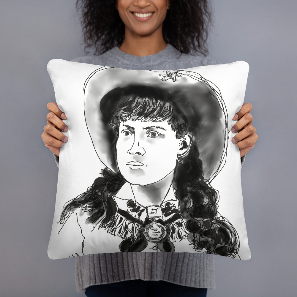 Annie Oakley Basic Pillow