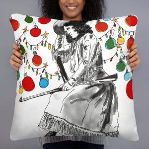 Addled Annie Basic Pillow