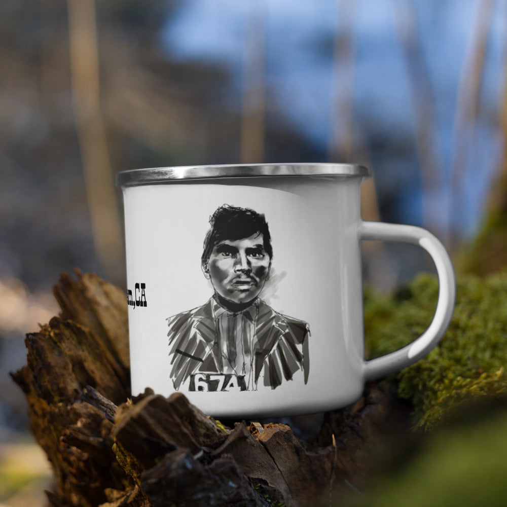 Willy Boy Enamel Mug