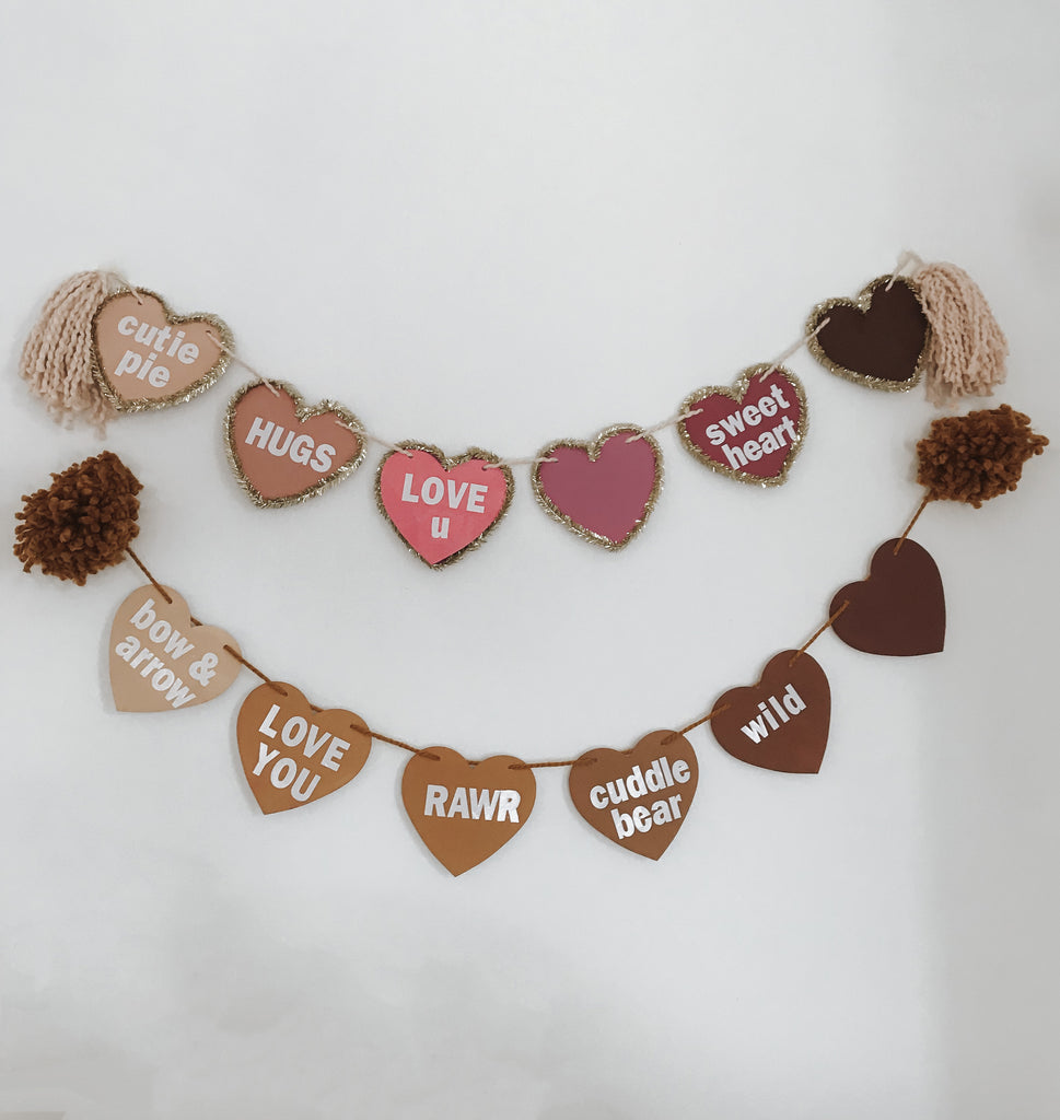 Valentine's Neutral Heart Collection