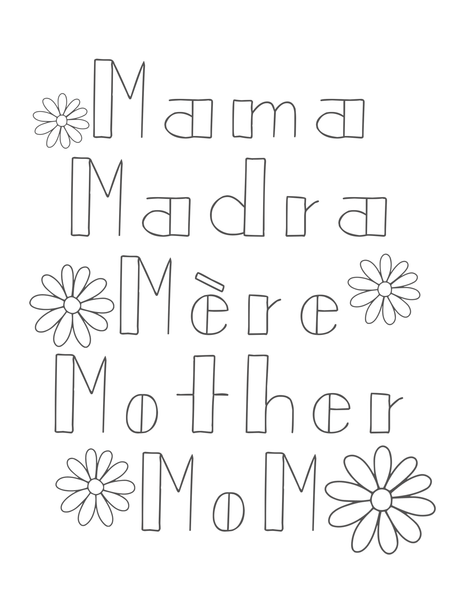 Mother's Day Activity Collection ♡