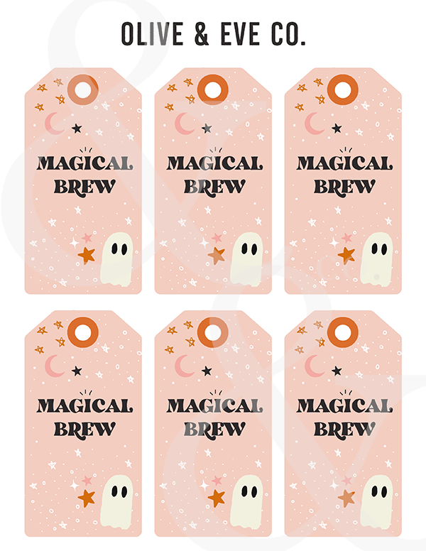 *NEW Halloween Gift Tags