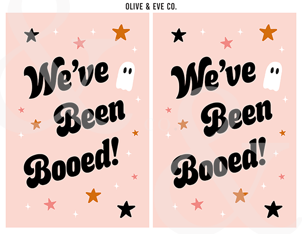 You've Been Booed {Diy} Collection