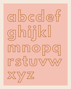 ABC Collection / Lowercase
