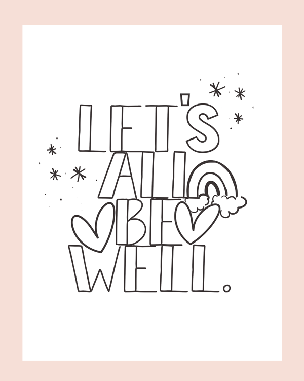 Let's All Be Well Collection ♡