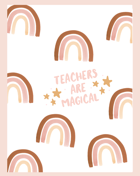 ♡ Teacher Appreciation // Warm ♡