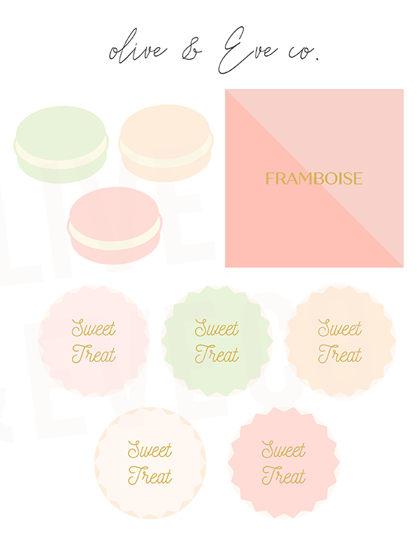 "Macaron ""Sweet Shop"" Collection"