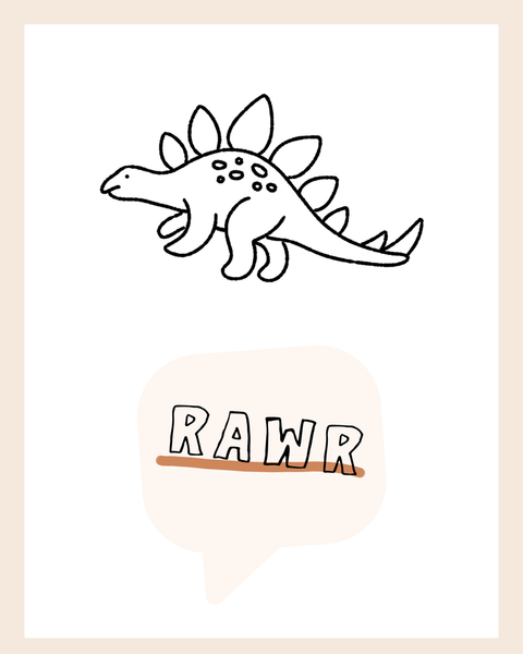 RAWR Dinosaur {rust} Collection ♡