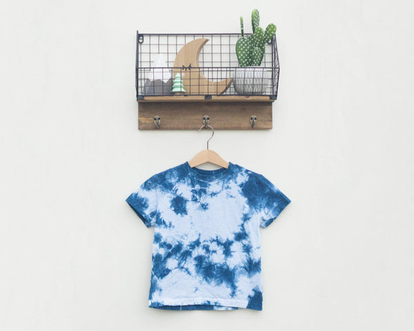 Indigo Dyed Toddler T-Shirt - Scrunch - Grey Duck & Co.