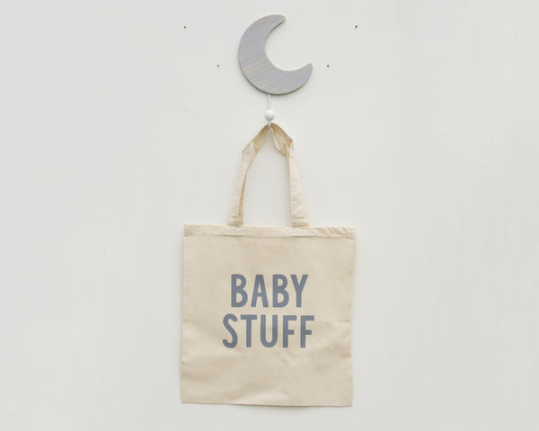 Baby Stuff Tote Bag - Grey Duck & Co.